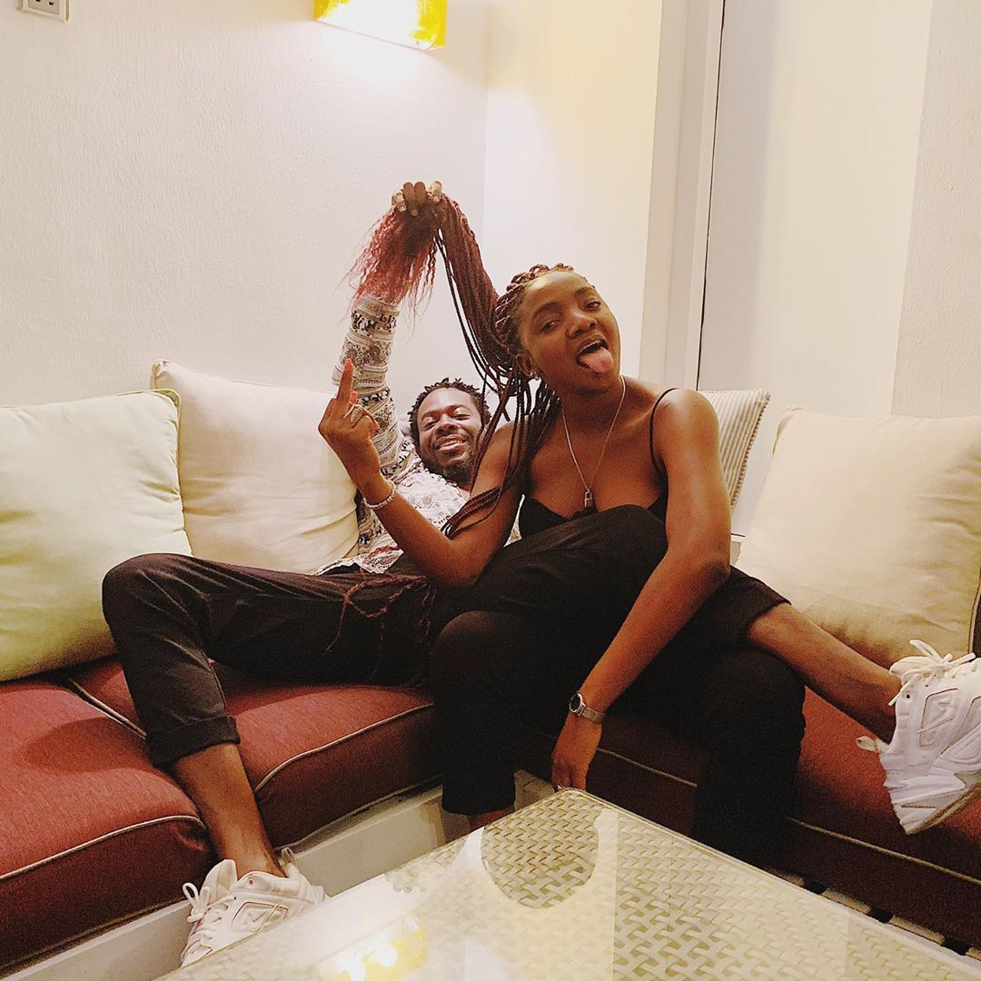 Celebrity couple: Adekunle Gold and Simi spend quality time with daughter in adorable video min