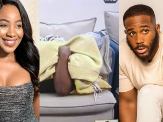 "BBNaija: ""Even Eric And Lilo Don't Do Up To This"" – Nigerians Drag Erica After She was Caught Pantless With Kiddwaya (Video) 32"