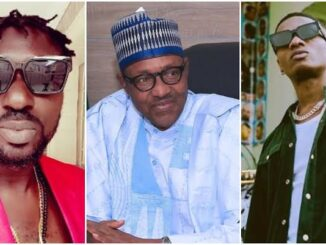 Exclusive: Wizkid is stupid for criticizing President Buhari - Singer Blackface says (video) 29