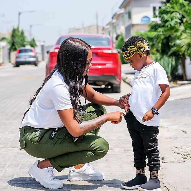 Tiwa Savage Shares The GREATEST Lesson She Has Learnt From Her Son min