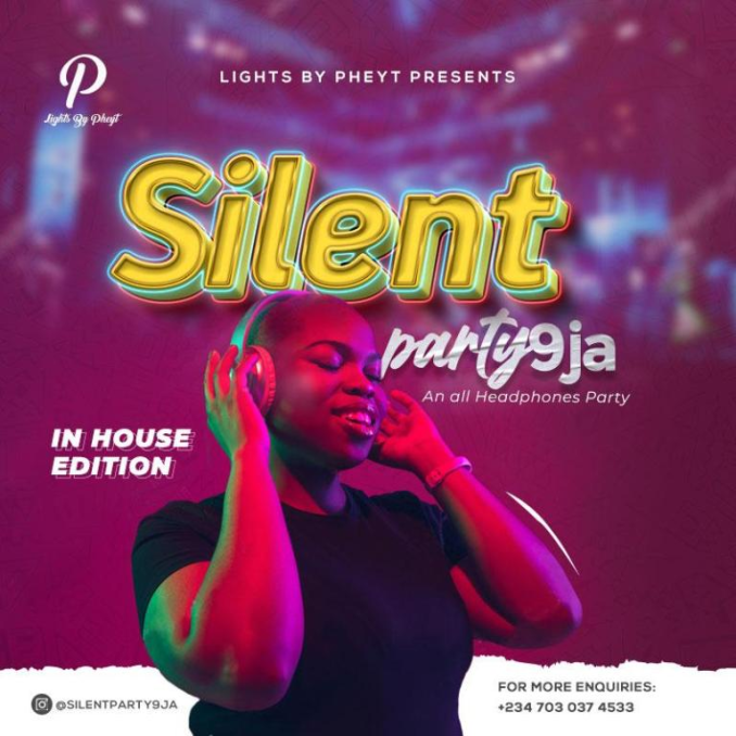 Lights By Pheyt Officially Launches SilentParty9ja min