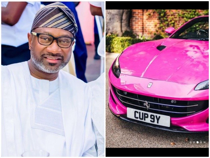 Femi Otedola's 3 Ferrari Gift To His Children – As A Nigerian, You All Are Suppose To Be Crying (Read This)