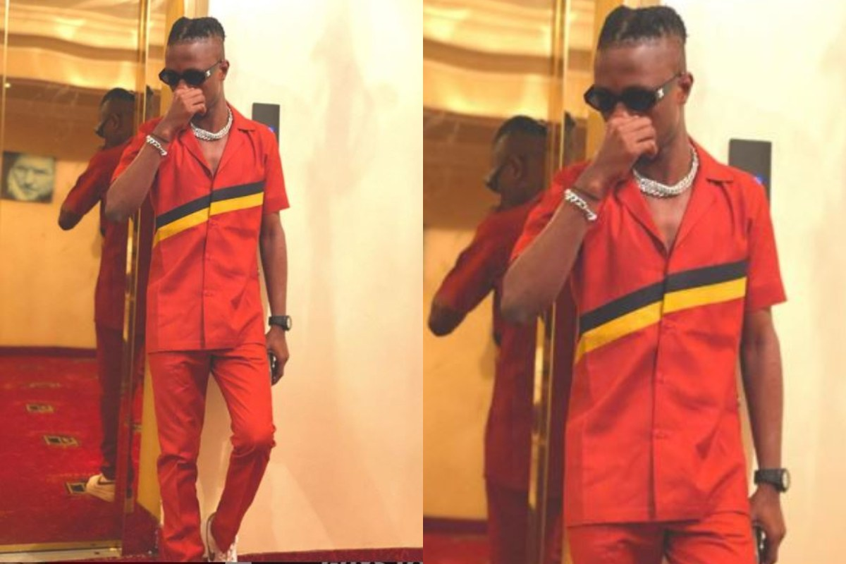 Laycon Steps Out In His 'Wizkid Mode' (Photos) min