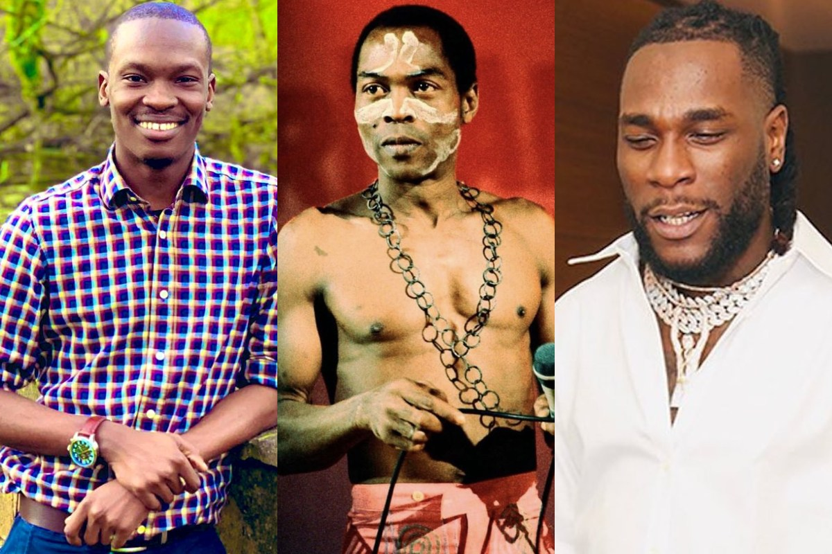 """""""Don't Compare Fela To Cowards Who Smoke Weed But They Are Twice As Scared"""" – Dr. Olufunmilayo Trashes Burna Boy (Photos) min"""