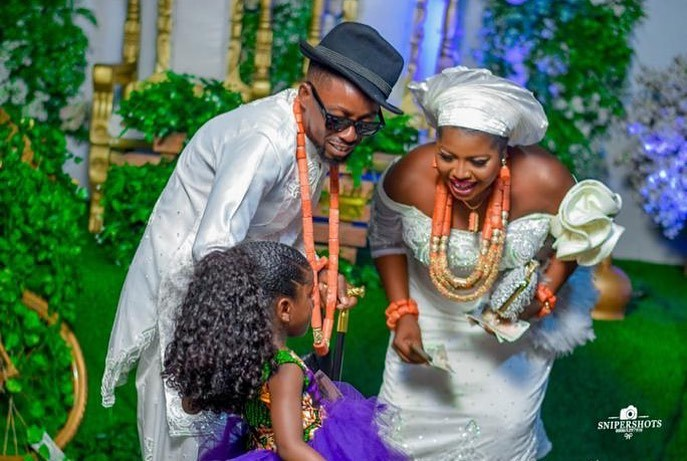 """""""Getting Married To You Is The Right Thing I Have Done In My Life"""" – Nigerian Rapper Erhiga Pens Down Message To Newly Wedded Wife (PHOTOS)"""