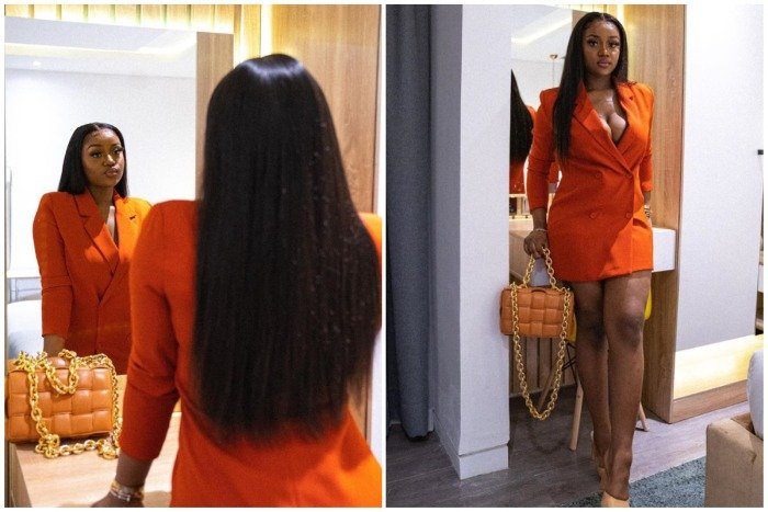 Davido's Girlfriend Chioma Dazzles In New Photos As She Celebrates The New Month