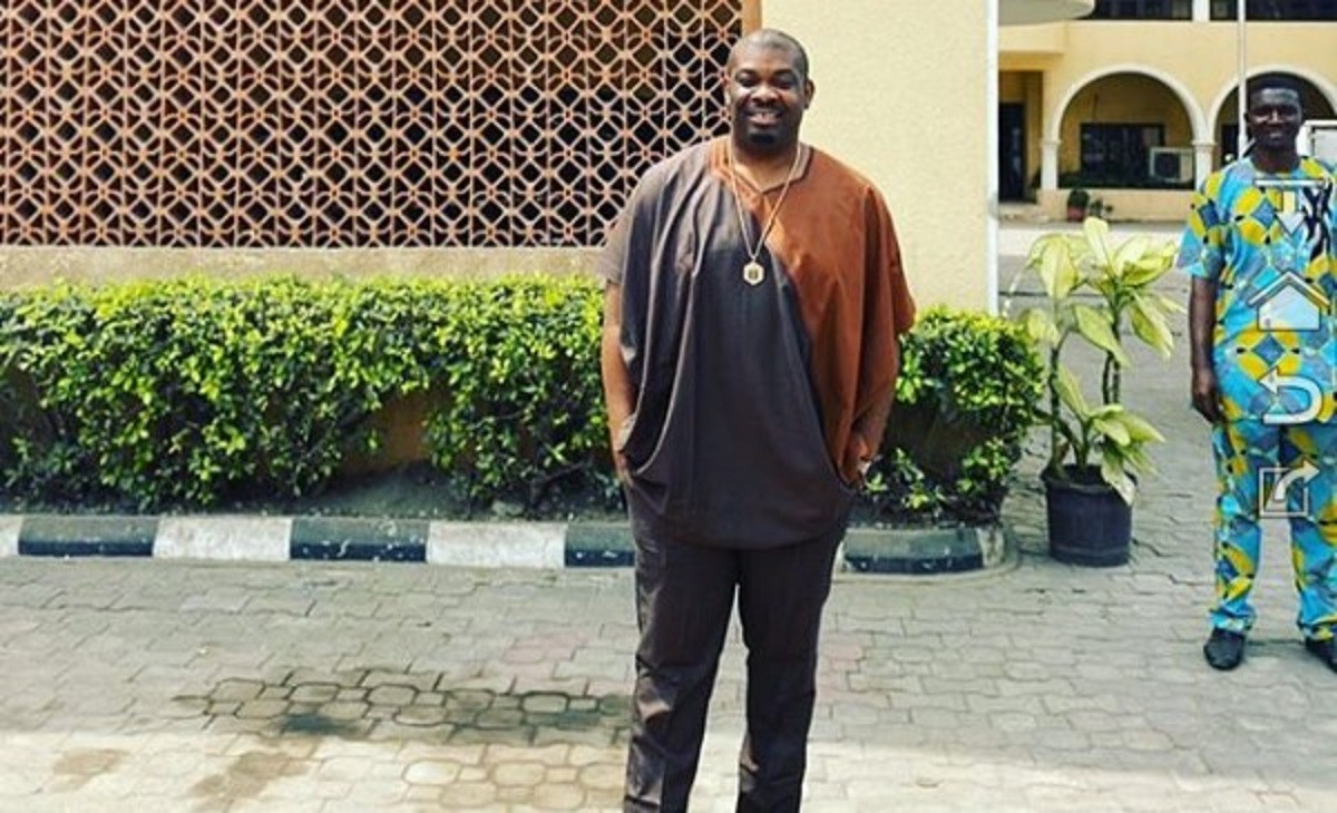 We Are Fighting So That You Don't Have To Be On The Streets Anymore – Don Jazzy Tells Street Guys (Video)