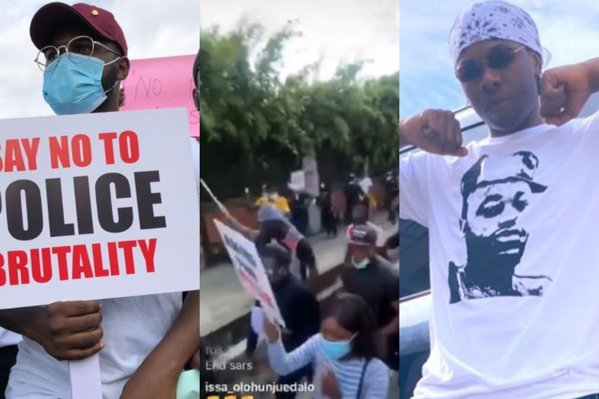"""""""We Don't Want #SARS Reformed, We Want SARS Completely Abolished"""" – Falz Says As He Leads Peaceful Protest With Runtown (Video)"""