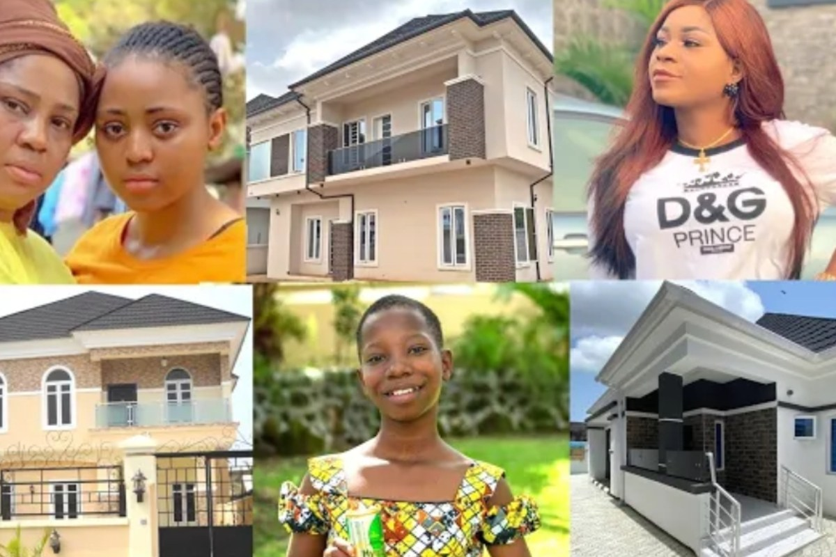 10 Nollywood Actresses Who Built Beautiful Houses For Their Mothers
