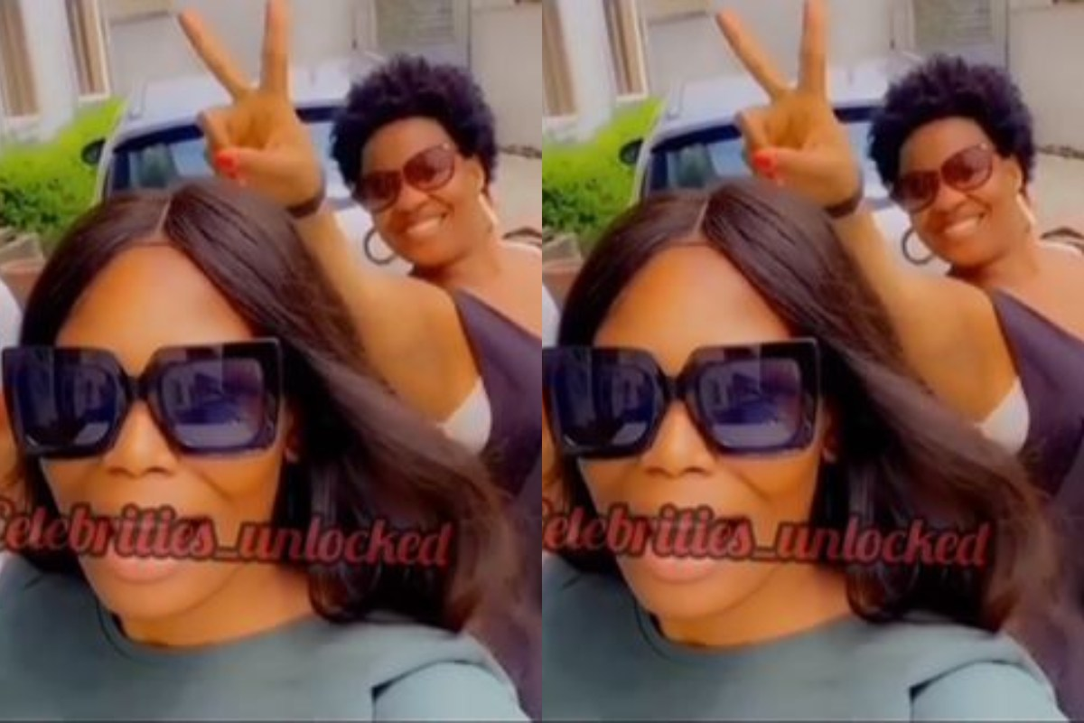 BBNaija Stars, Kaisha And Lucy Spotted Chilling Together (Video)