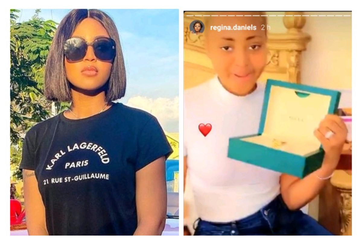 CHECK The Mind-Blowing Price Of Rolex Watch Ned Nwoko Bought For His Wife Regina Daniels