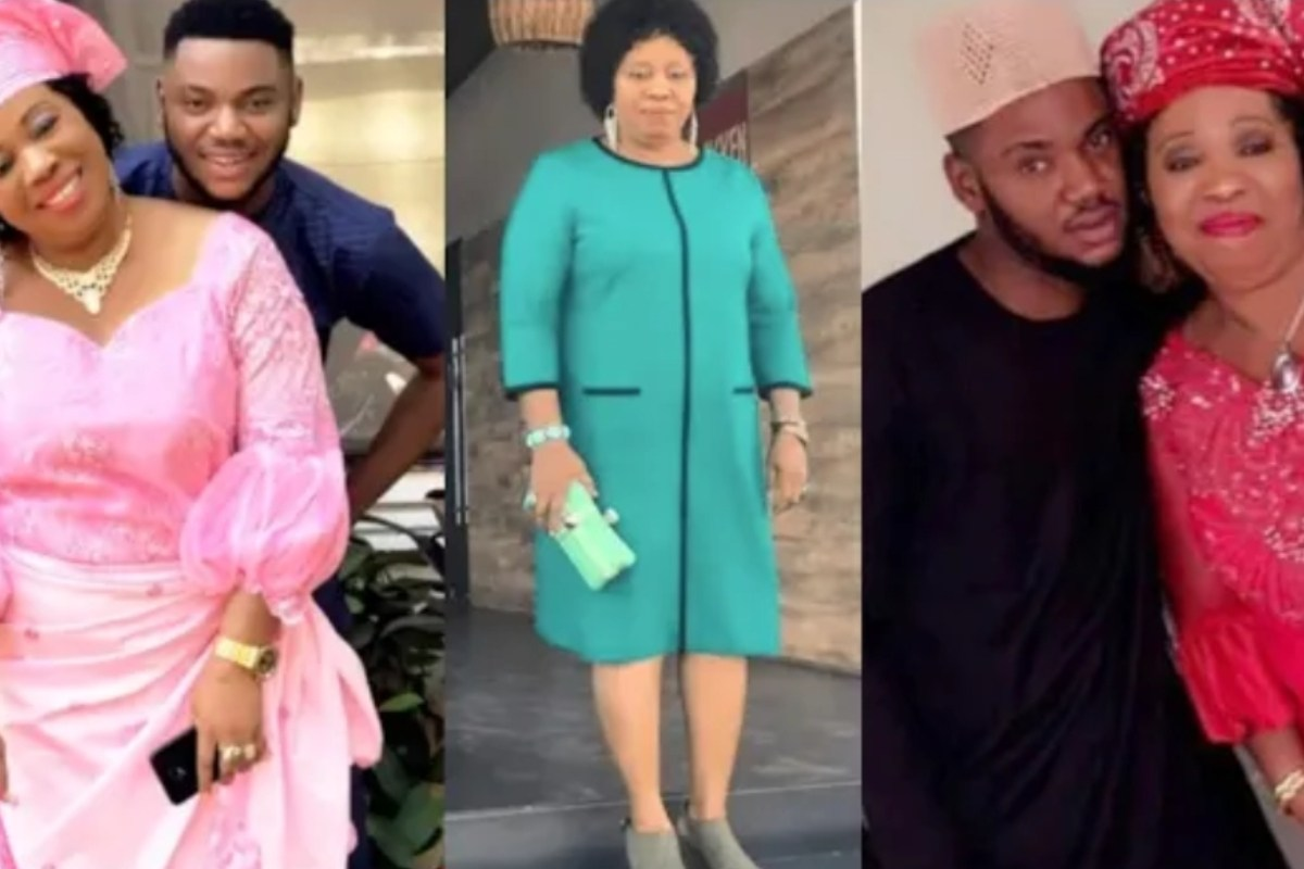 Meet The Gorgeous Mother Of Nollywood Actor, Somadina Adinma