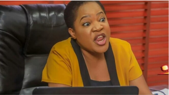 Toyin Abraham Leads #EndSars Protest 24 Hours After Getting Dragged By Nigerians On Twitter