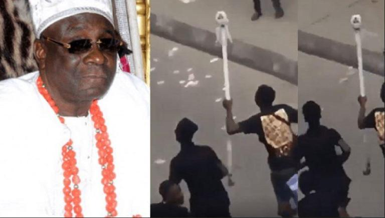 Oba Of Lagos' Staff Of Office Reportedly Returned (Watch video)