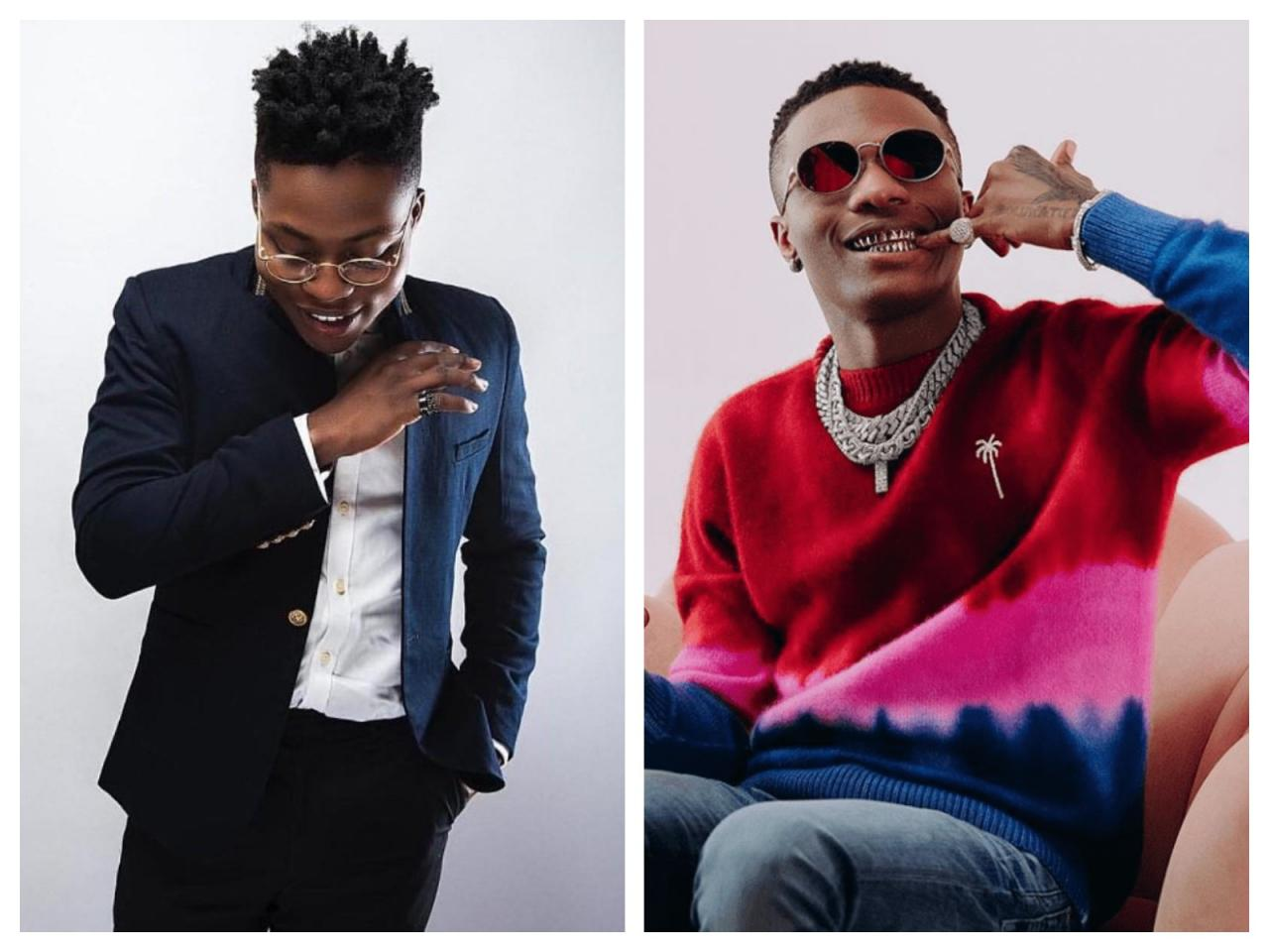 After Wizkid Called Him An Animal See What Reekado Banks Did That Got People Talking