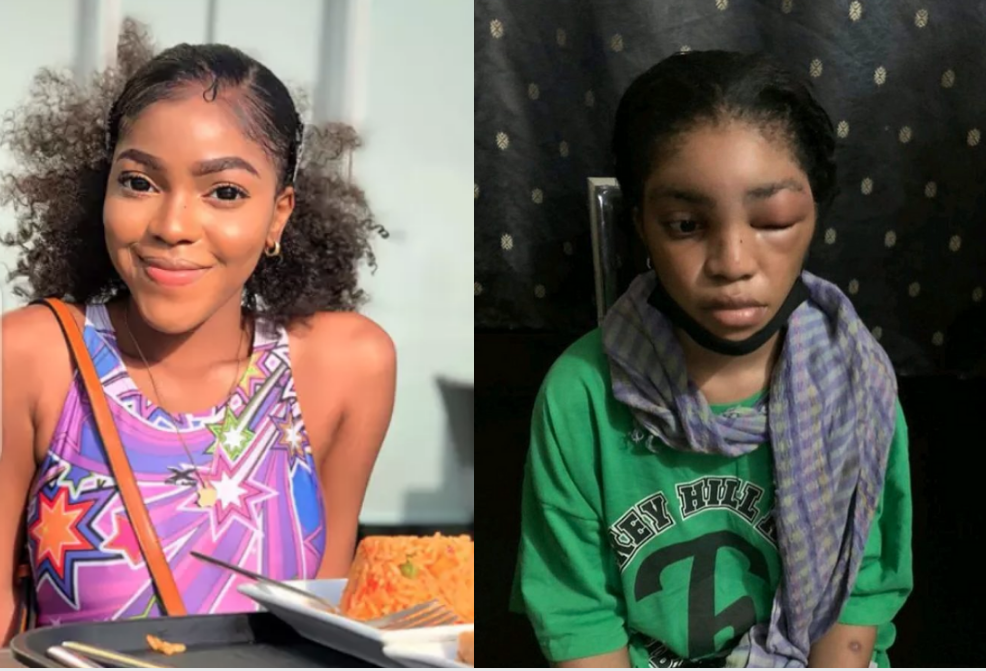 Checkout Some Stunning Photos Of Lil Frosh's Girlfriend, Geminme Just Before She Was Beaten To The Pulp