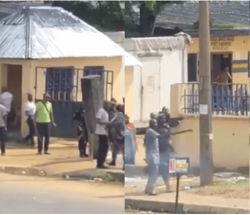 """Video: """"Odeshie"""" Boys Faces SARS Officers, Bullets Could Not Penetrate Them"""