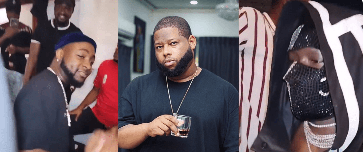 Davido Spotted Hanging Out With Nana Bediako And D Black At Oasis Night Club (Video)