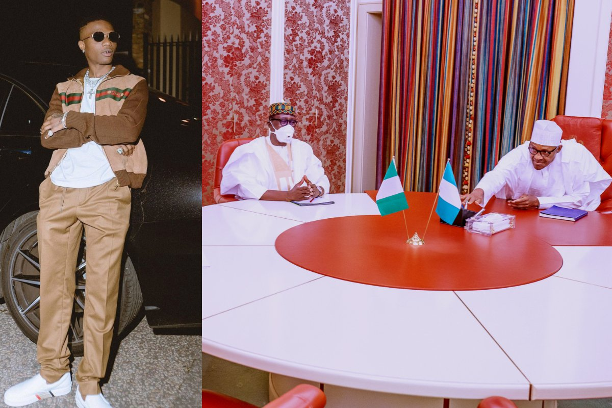 """""""You Think They Had Some Time To Discuss SARS?"""" – Wizkid Reacts To Buhari Meeting With The National Security Adviser"""