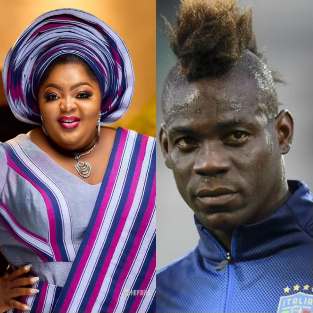 Lekki Toll Gate: Actress Eniola Badmus Cries Out To Mario Balotelli Amidst Reports Of Being Shot