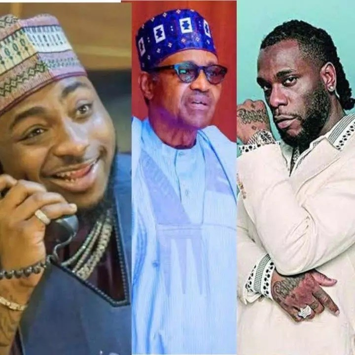 """""""It's Over"""" Burna Boy Say While Davido Reveals The Next Thing To Do After Buhari Addressed Nigerians"""