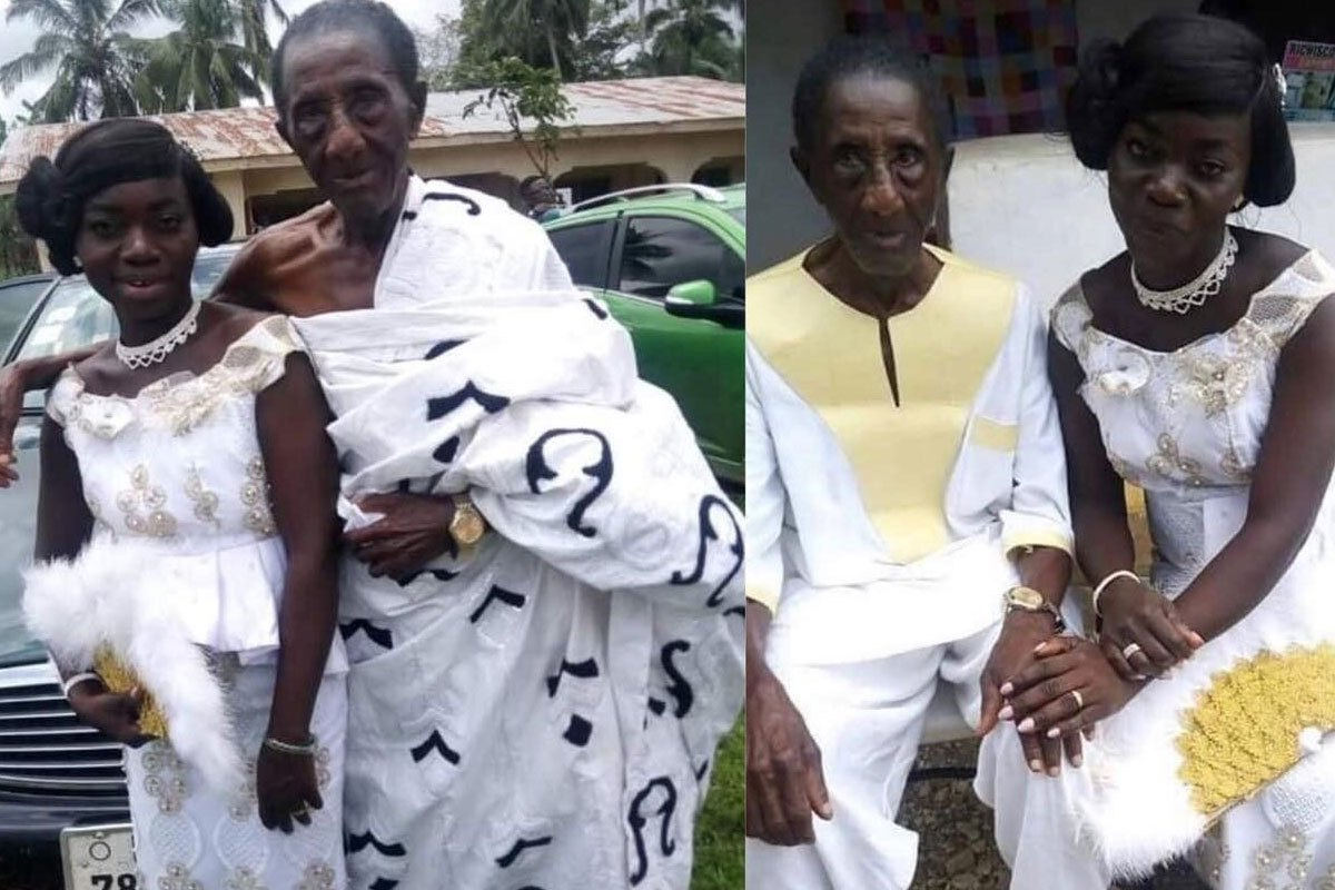 35-year-old Wife Says Her 97-year-old Husband Is GOOD In Bed min