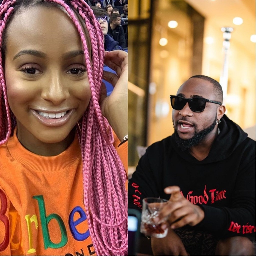 """""""Come And Sign Me""""- Otedola's Daughter, Dj Cuppy Begs Davido To Sign Her Into His Record Label"""
