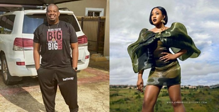 """""""Fvck Us Up We Are Your Room 306 Guest"""" – Don Jazzy Reacts To Saucy Photo Of Erica"""
