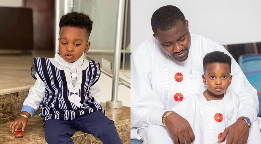 John Dumelo's Son Turns 2 Years Today, Check Out His Father's Message To Him