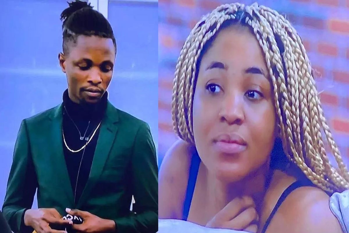 """""""Apologise For What?"""" – Laycon Angrily Replies Fan Who Asked If He Will Apologize To Erica (VIDEO)"""