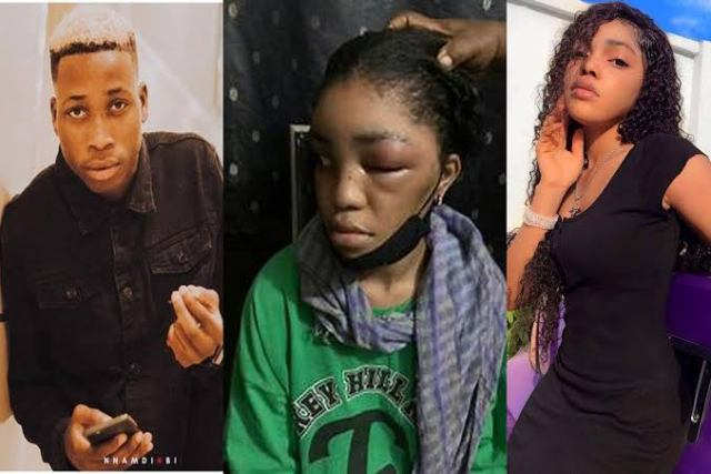 Lil Frosh's Girlfriend, Gift Camille Finally Breaks Silence After She Was Beaten To Pulp