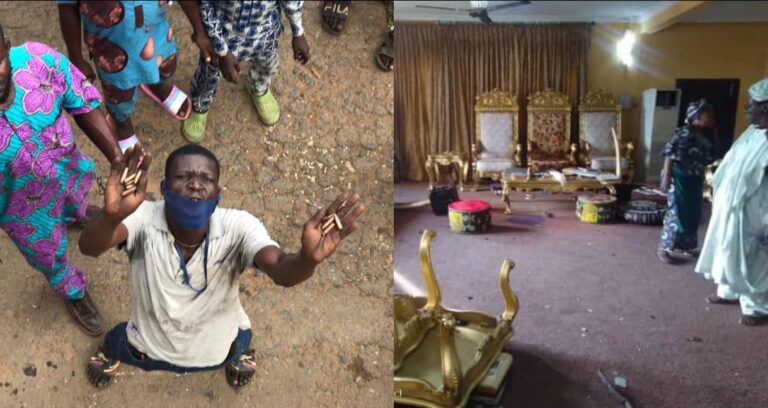 More Than 8 People Killed, Soun Chased From Palace; Summary Of The Unrest In Ogbomoso (Videos)