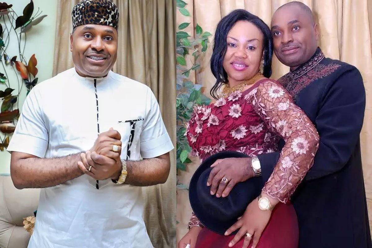 18 Years After His Mother Gave Him A Wife To Marry, SEE Recent Photos Of Nollywood Actor, Kenneth Okonkwo And His Family