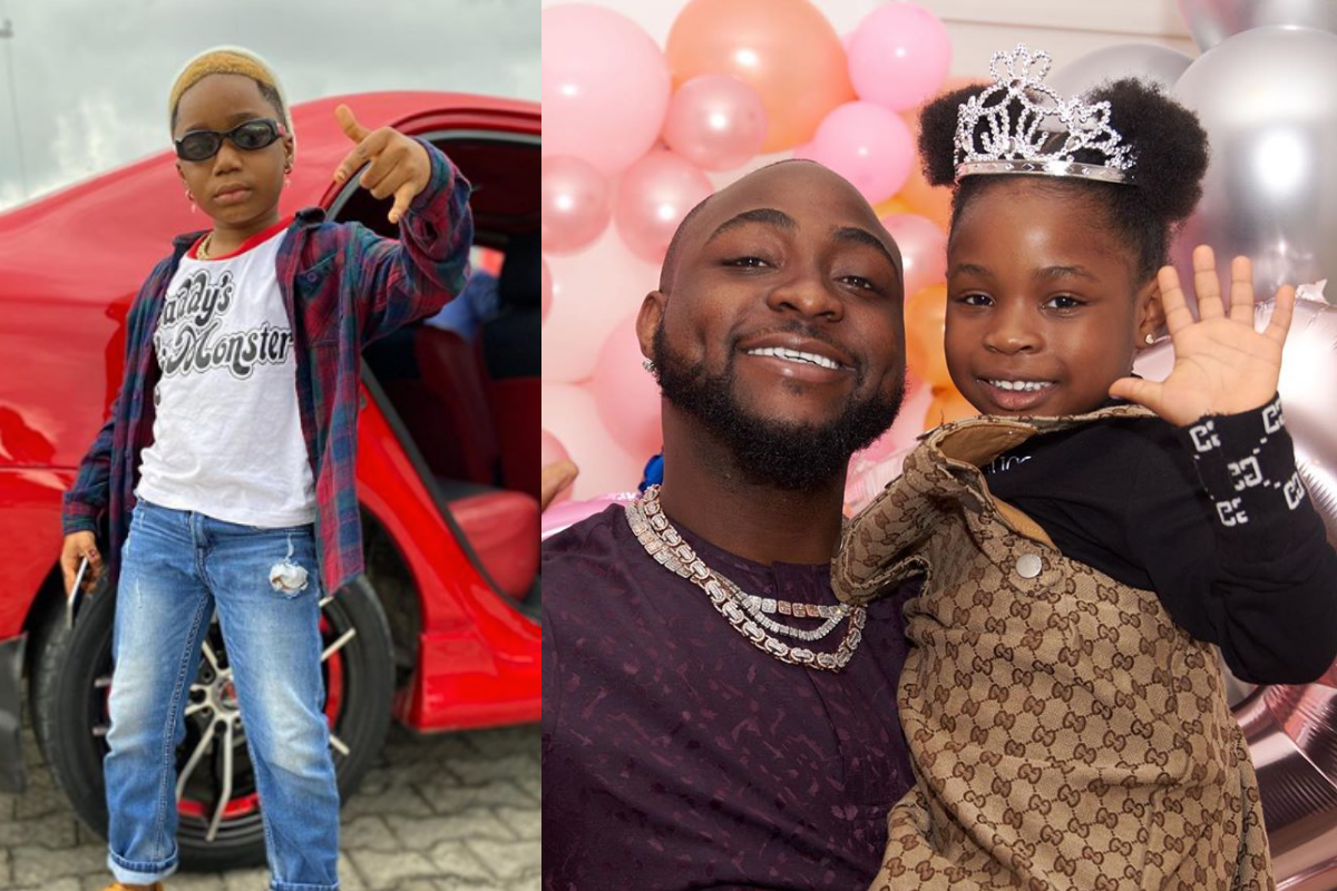 Meet The 7-Year-Old Wealthy Musician Who Has Fallen In Love With Davido's Daughter, Imade