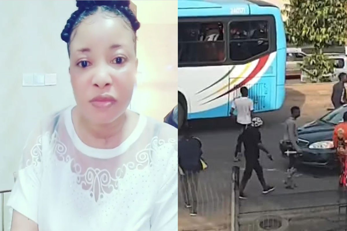 Actress, Lizzy Anjorin Blasts Thugs Attacking #EndSars Protesters (VIDEO)
