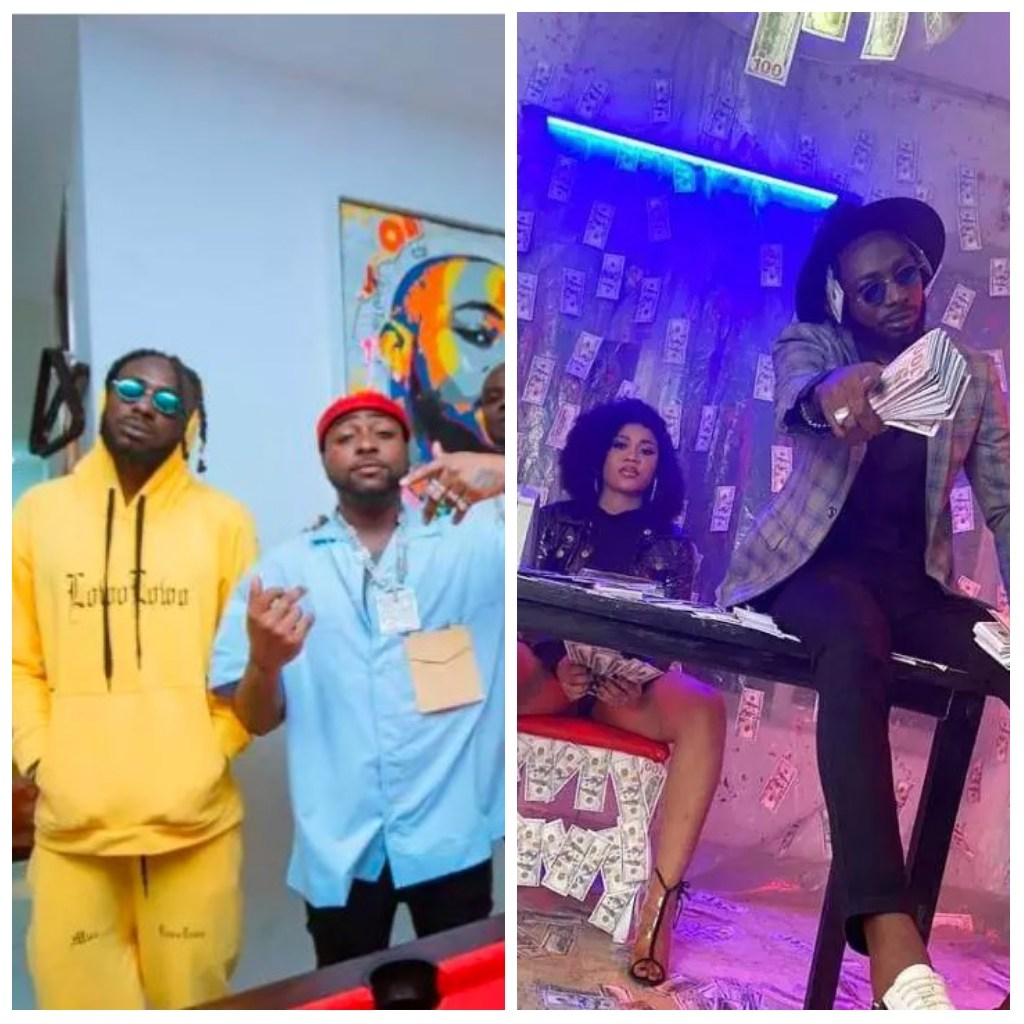 Poverty Is A Curse: Just 4 Months After He Was Signed To Davido's Record Label, DMW, See How He Has Changed
