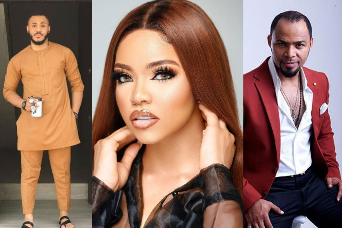"""""""She Is Saying Goodbye To Ozo' – Fan Reacts After Nengi Was Spotted Dining With Ramsey Nouah In South Africa (VIDEO)"""