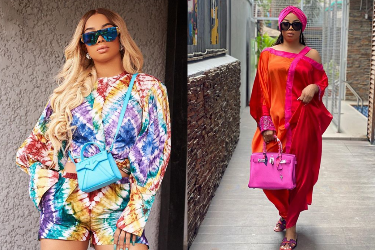There Must Be A Change – Toke Makinwa Urges Protestors Not To Leave The Streets Without Seeing Any Change