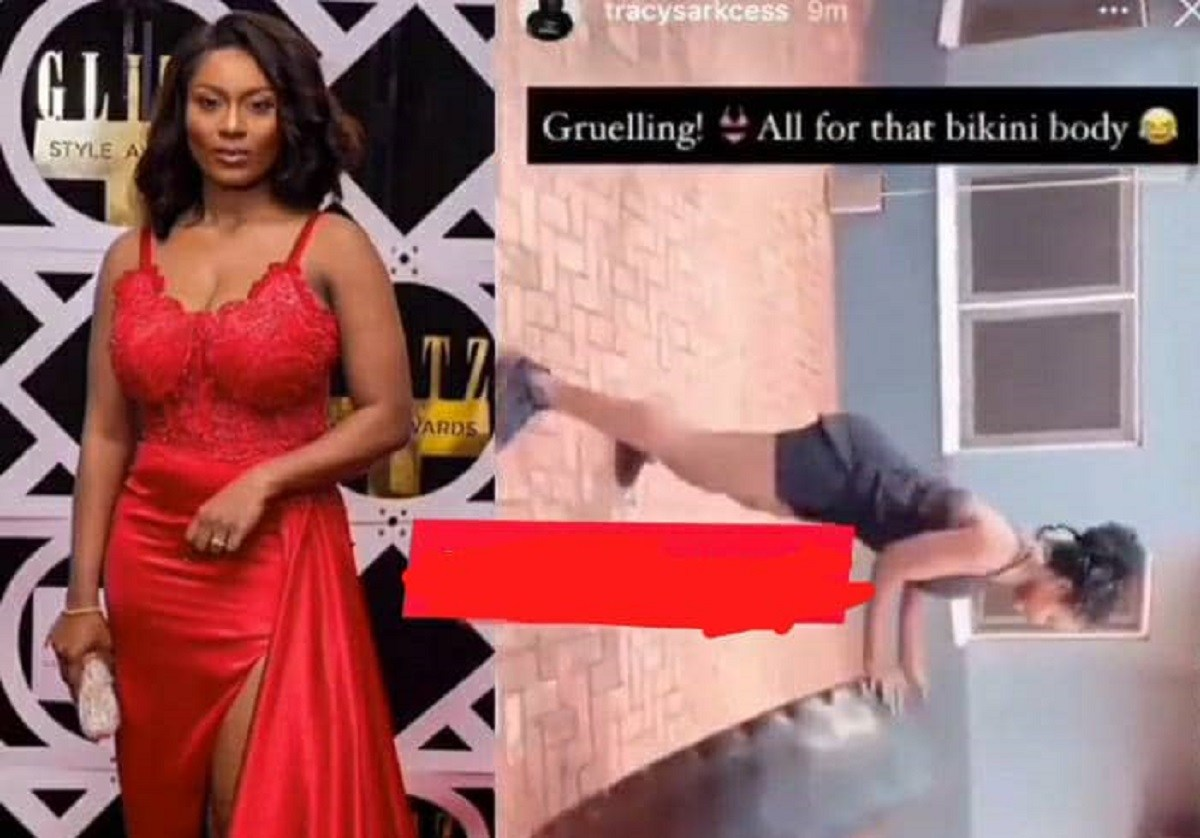 All For That Bikini Body – Tracy Sarkcess Hits The Gym After Being Trolled For Gaining Weight