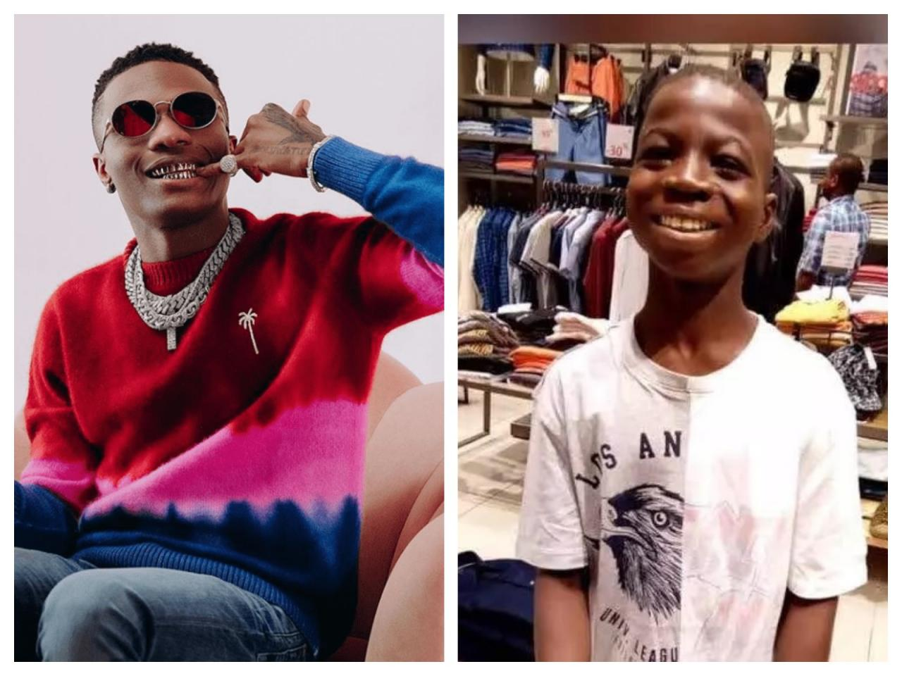 2 Years After Wizkid Sent Him To School, See Recent Photos Of Basit