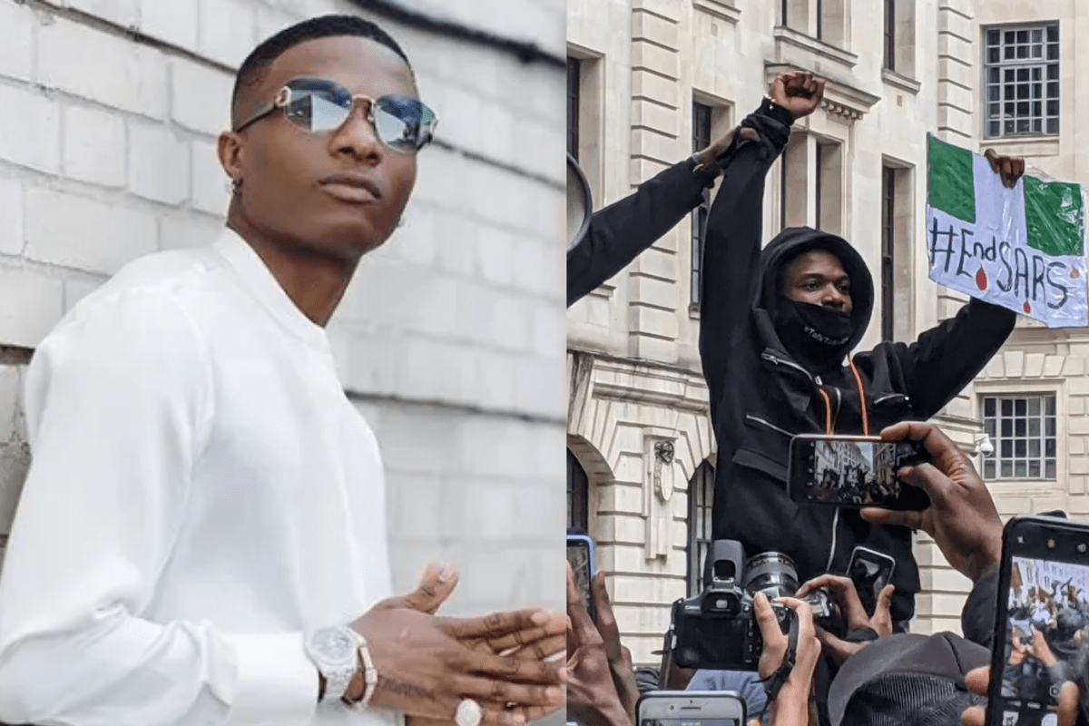 """""""Nigerians Are Lucky To Have You"""" – Top Celebrities And Fans React As Wizkid Shares Touching Photos"""