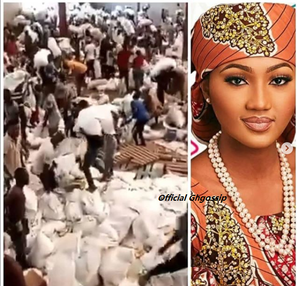 Palliatives In Warehouses Evidence My Dad Isn't Nigeria's Problem -Buhari's Daughter