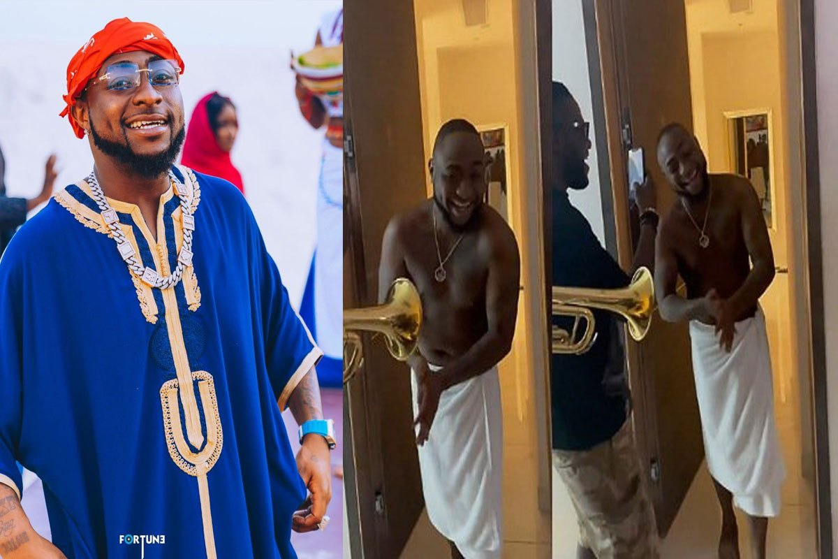 Watch Moment 30BG Crew Treated Davido To An Early Morning Surprise On His 28th Birthday (VIDEO)