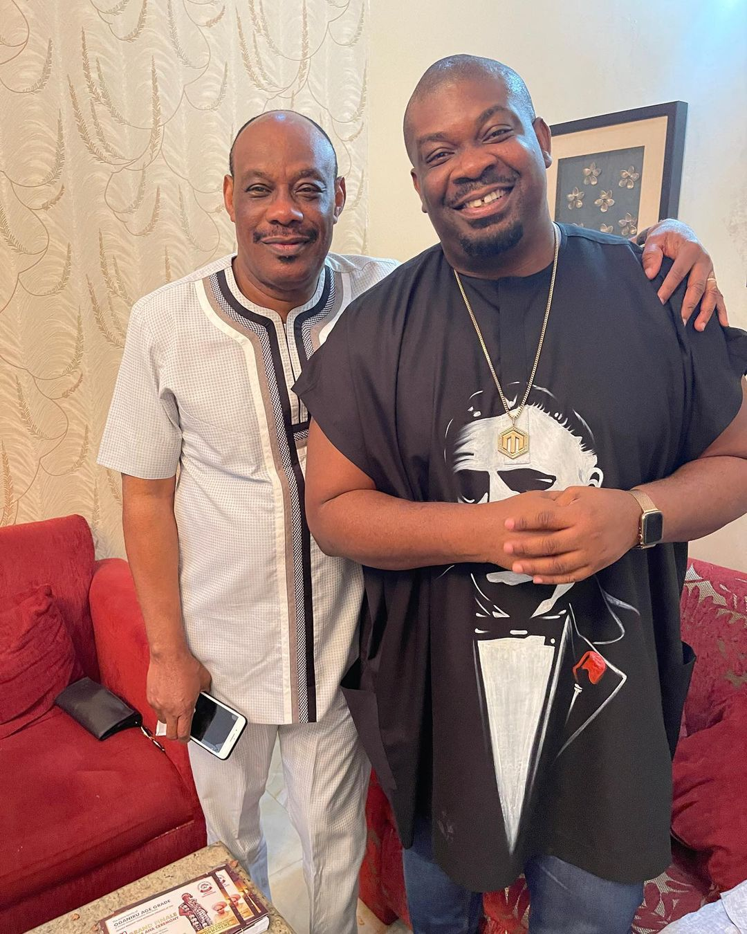 Like Father, Like Son – Don Jazzy Shares Father And Son Moment – Photo