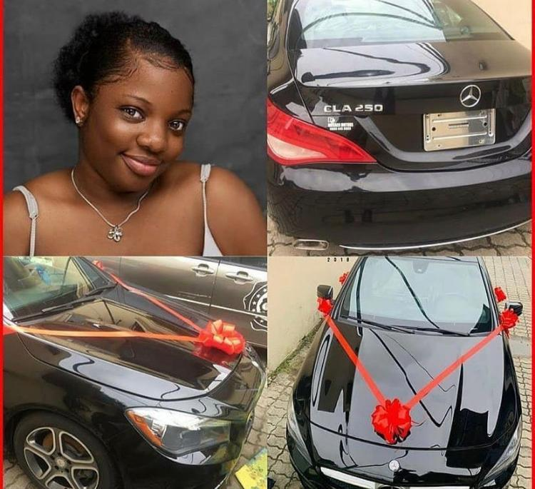"""""""The Car Is Not Brand New"""" – Benz Custodians React To Dorathy's Car"""