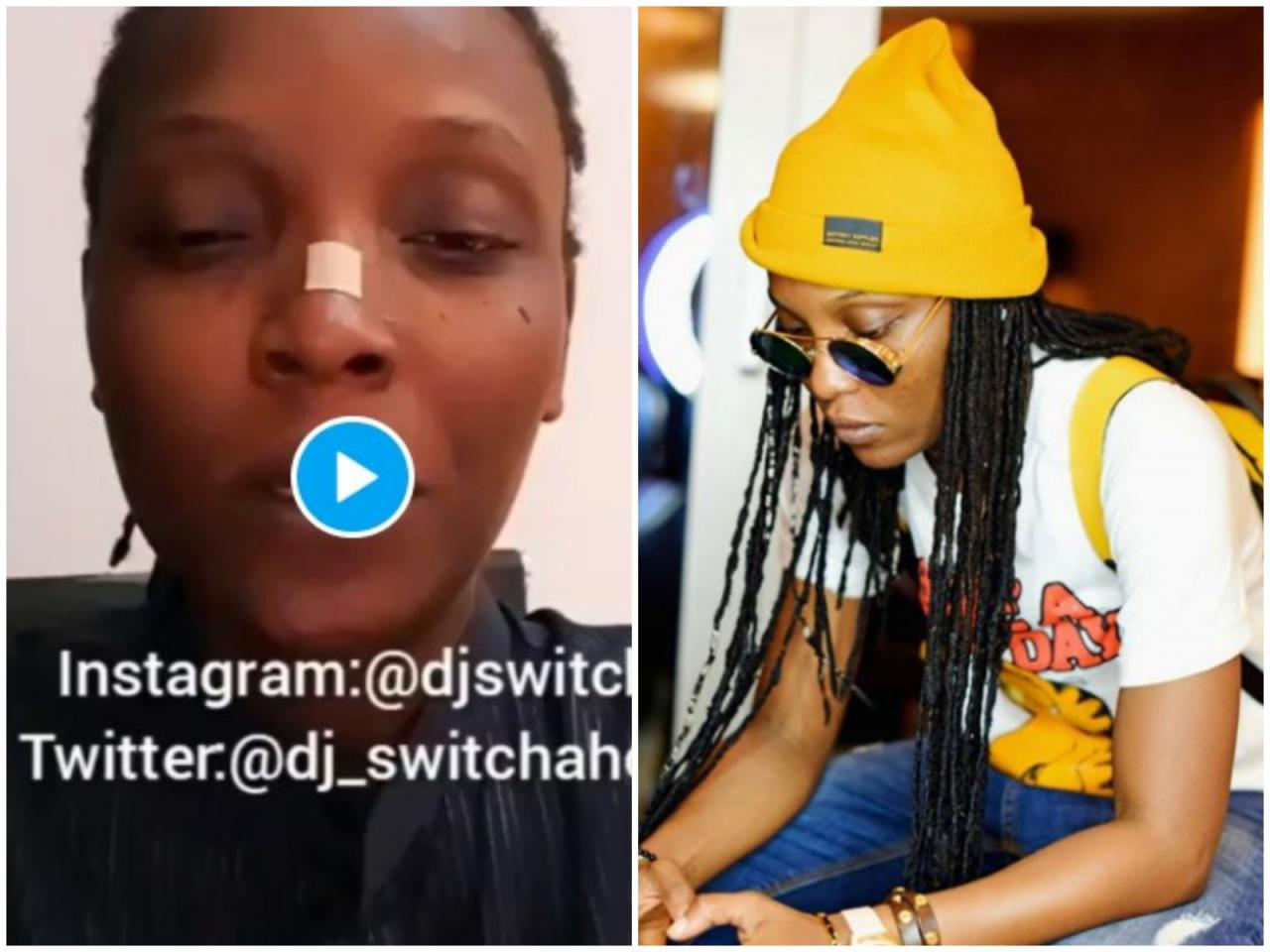 DJ Switch Received Death Threats From Every Angle, She Is Safe But Not In Nigeria – Peter Okoye's PA
