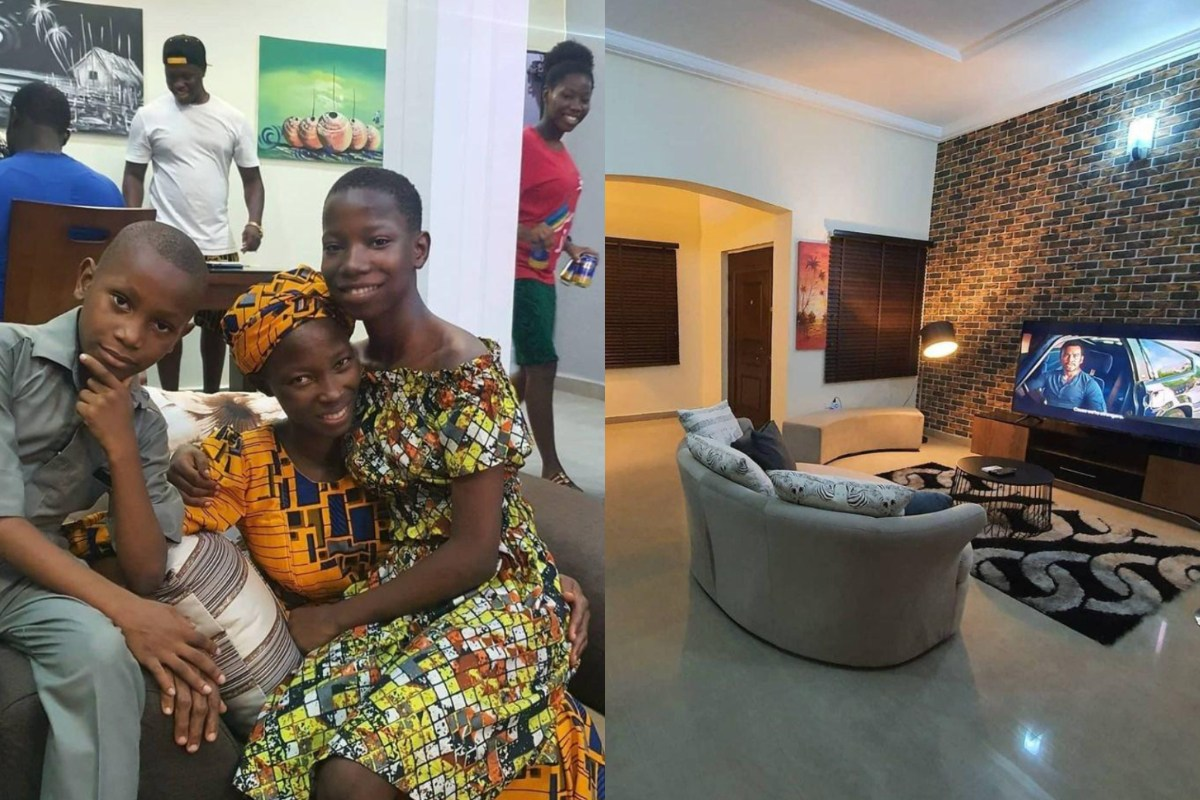 Check Out The Expensive Things That Young Comedienne, Emmanuella Used To Furnish Her N10 Million Mansion For Her Mother