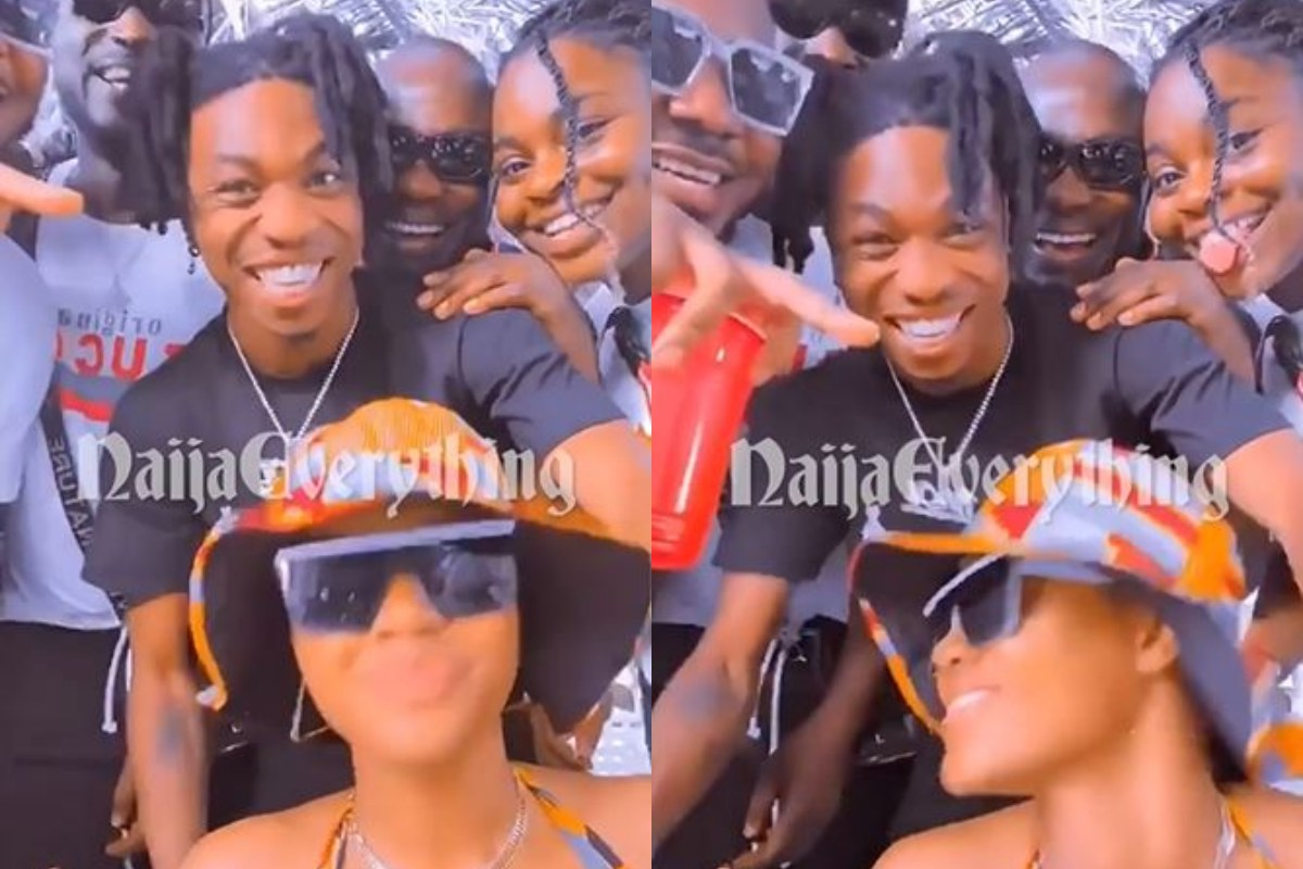 """""""No Be Like This We Be Real Life Oh"""" – Mayorkun Confesses As Snapchat Filter Enhance Their Beauty (Video)"""