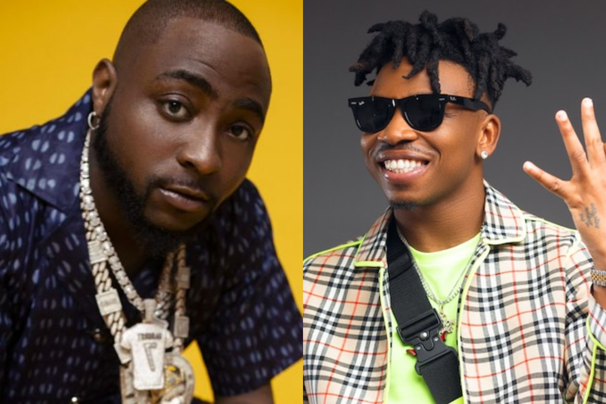 Davido Leaks Private Chat With Mayorkun, Fans Reacts
