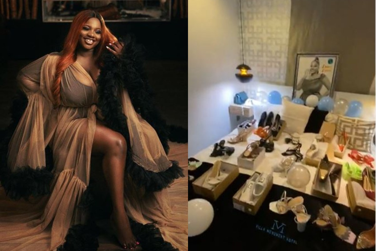 Dorathy Fans Gift Her 25 Sets Of Shoes To Celebrate Her 25th Birthday (Video)
